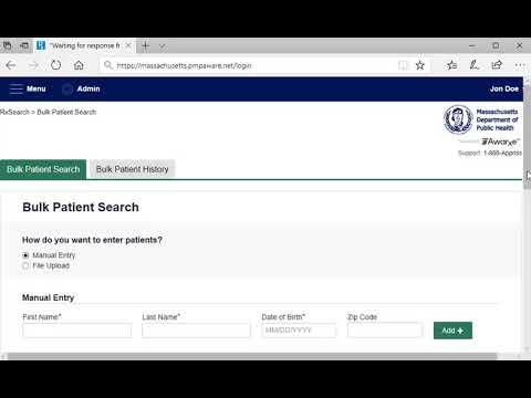 Why We Must Be Patient When Searching >> Masspat Tutorial 6 Bulk Search Mass Gov