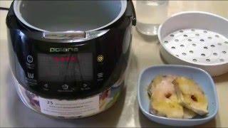 Домашние видео рецепты -  рыба на пару в мультиварке