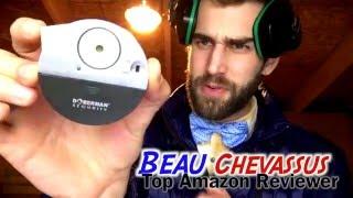 ★★★★★ Doberman security window/door alarm review: Ultra-Slim Window Alarm with Loud 100dB Alarm