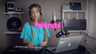 FRIENDS - Marshmello & Anne-Marie | Romy Wave cover