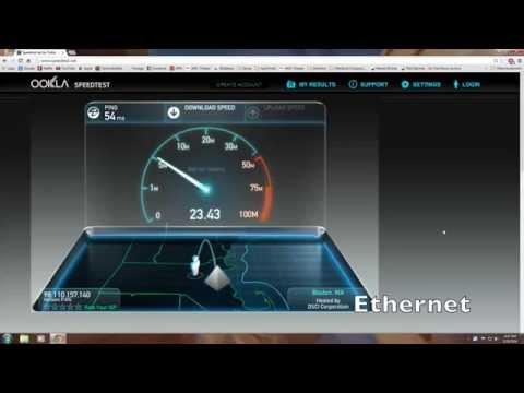 Wifi vs. Ethernet!