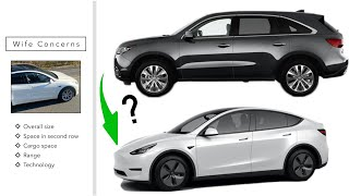 can you replace your mid size SUV with the Tesla Model Y?