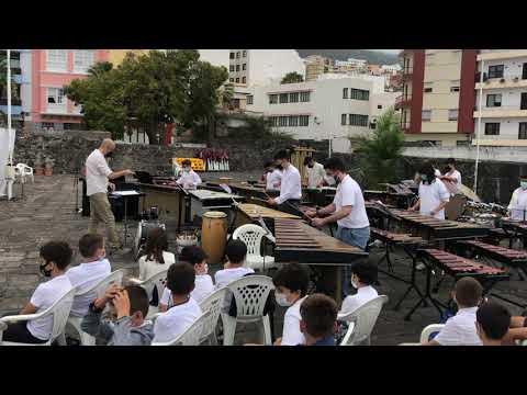 Los alumnos de Percusión de la Escuela Insular de Música ofrecen un concierto