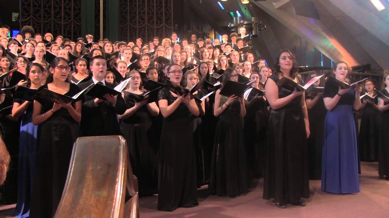 choir honor mixed choir all region .