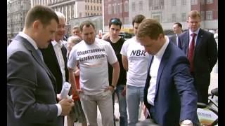 Осмотр обновлённой станции велопроката в центре Москвы(Осмотр обновлённой станции велопроката в центре Москвы В этом году в Москве будет гораздо больше станций..., 2014-06-09T12:18:57.000Z)