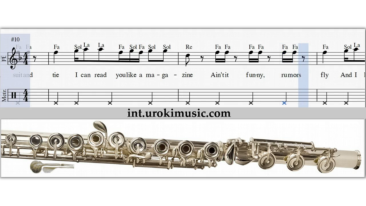 Cours de flute traversiere t swift blank space comment for Housse flute traversiere