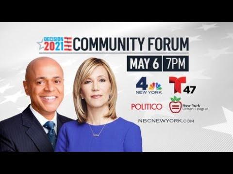WNBC / NY Urban League Community Forum: Decision 2021