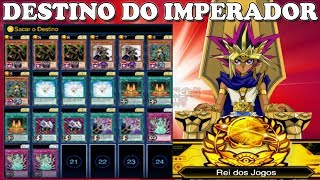 PEGUEI REI DO JOGOS COM DECK FREE TO PLAY DESTINO DO IMPERADOR   Yu Gi Oh! Duel Links