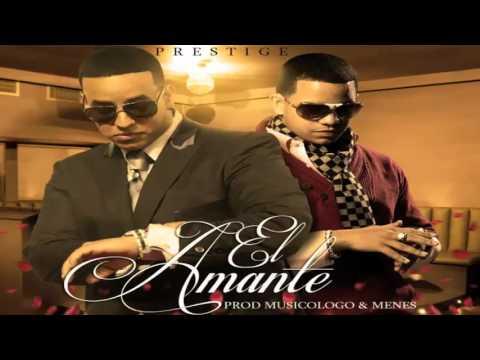 El Amante Daddy Yankee Ft J Alvarez Original Con Letra Reggaeton Romantico 2012 Youtube