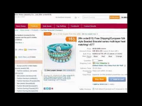 Alibaba shopping network (Europe and the United States popular jewelry)