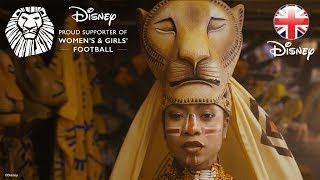 THE LION KING | Good Luck Lionesses! England Women's Football Team | Official Disney UK