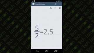 MyScript Calculator : App Review   Walkthrough