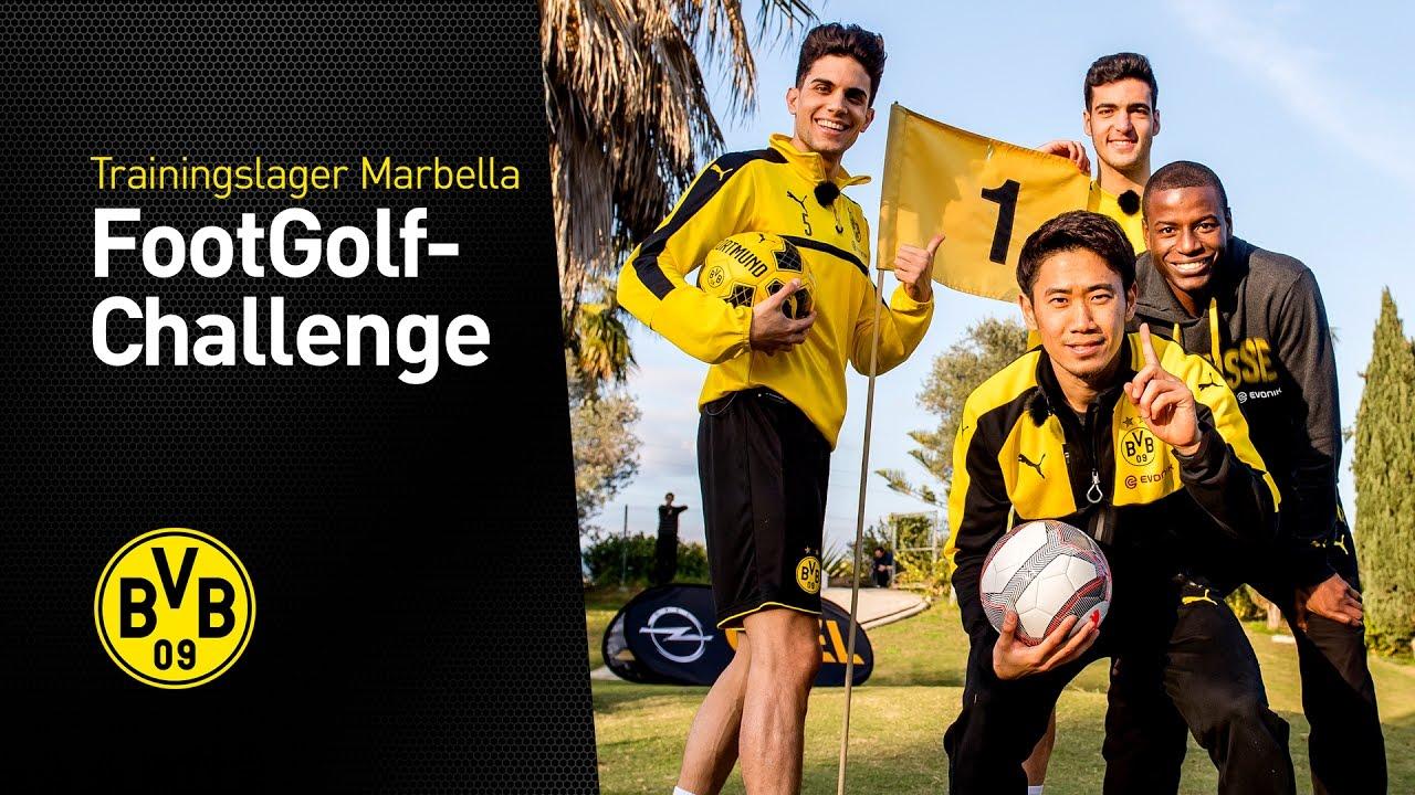 FootGolf mit Bartra, Merino, Kagawa und Ramos (3/3) | Trainingslager in Marbella 2017