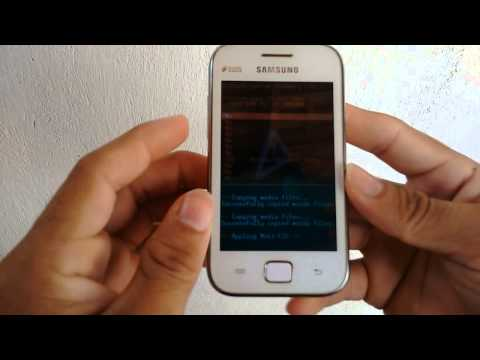 Hard Reset Galaxy Ace Duos (GT-S6802) #UTICell