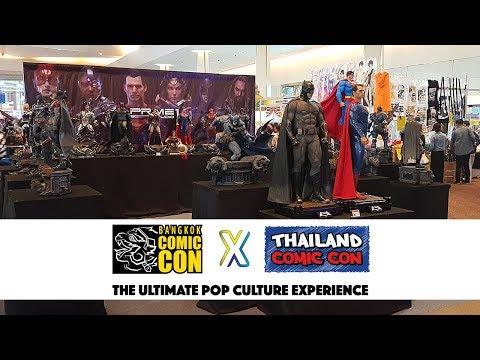 Bangkok Comic Con 2018 - Prime 1 Studio, Sideshow Collectibles, Iron Studios, and More!