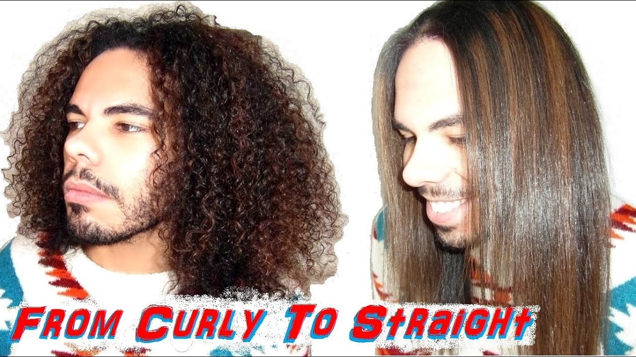 From Curly To Silky Straight Best Flat Iron Ever Flat