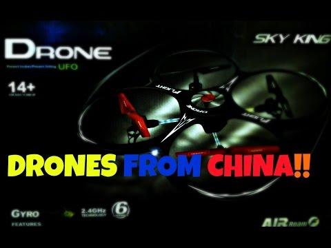 DRONES FROM CHINA!!(Good Quality)