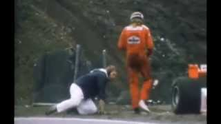 My Father in his moment of fame with James Hunt