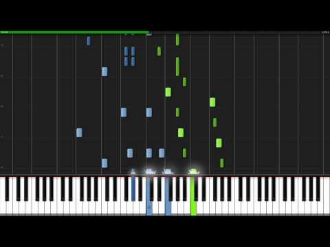 Minute Waltz  Frederic Chopin Piano Tutorial Synthesia