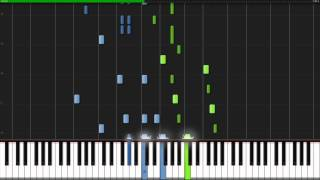 Minute Waltz - Frederic Chopin [Piano Tutorial] (Synthesia)