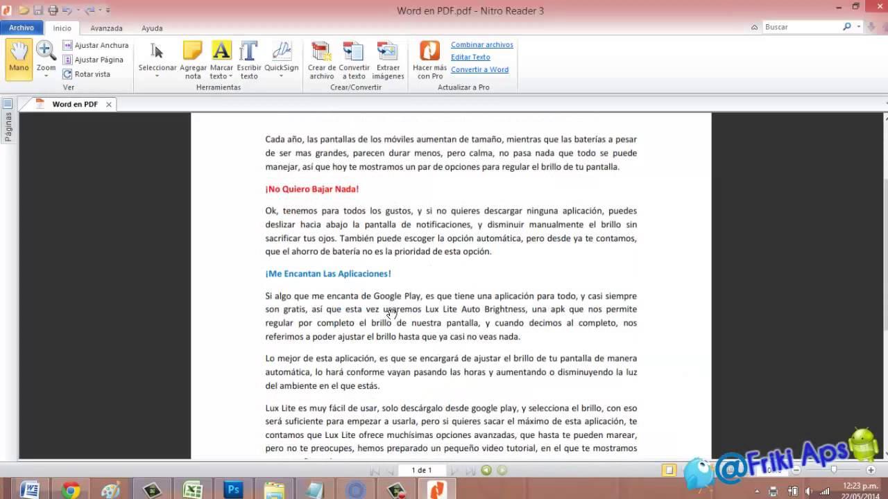 Cómo Convertir Cualquier Archivo A Pdf Youtube