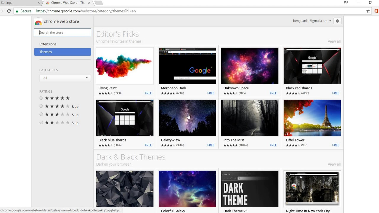 How To Change The Theme Of Your Google Chrome Web Browser!