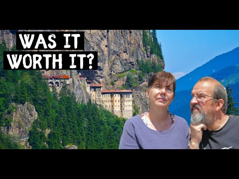 VAN LIFE Turkey - They said we MUST visit SUMELA MONASTERY