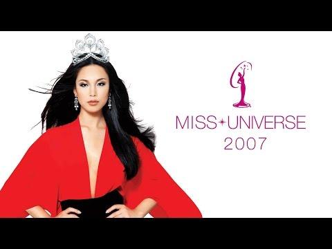 Miss Universe 2007 - Riyo mori
