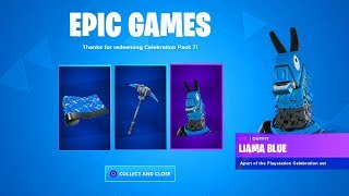 the New PLAYSTATION CELEBRATION PACK 7 in Fortnite (FREE)