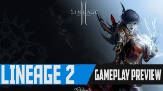 Lineage 2 Gameplay Primeiras Impressões - Gameplay Preview - Goddess of Destruction