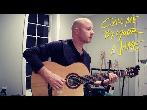 Call Me By Your Name: Visions of Gideon | classical guitar (Sufjan Stevens) + TAB