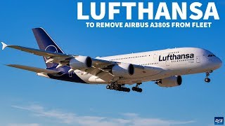 Lufthansa to Remove 6 A380s