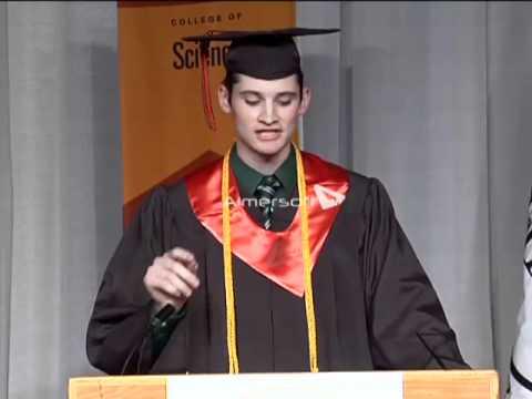 Jamie Wratten - RIT Commencement Speech