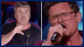 America's Got Talent: Simon Cowell stunned by father-of-six before Golden Buzzer bombshell