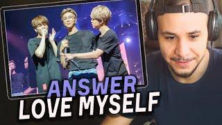 BTS Answer: Love Myself🎵 РЕАКЦИЯ!