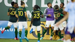 HIGHLIGHTS   Ebobisse's goal lifts Timbers past FC Dallas