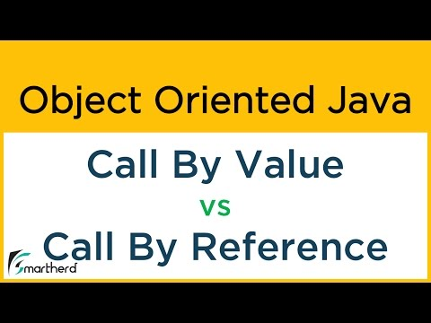#12 Object Oriented Java Tutorial: Call by Value vs Call by Reference