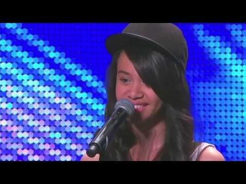 Australia's Got Talent 2013 | Auditions | Angel Tairua shines bright
