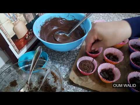 مطبخ ام وليد كاب كيك الشوكولا و فتات البيسكوي