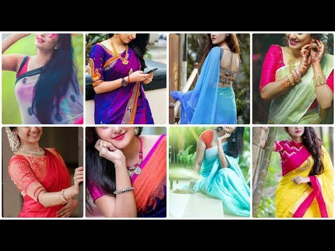 Download Best Saree Photo Poses Idea For Girls