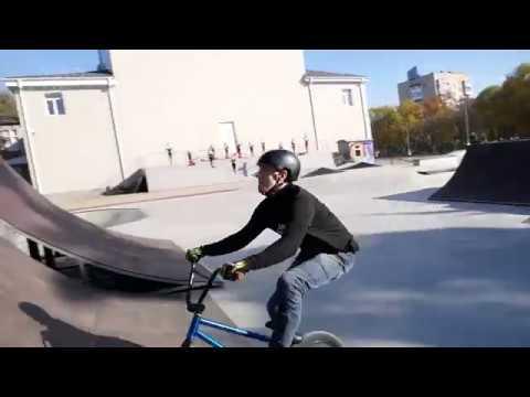 Открытие скейт-парка в Невинномысске