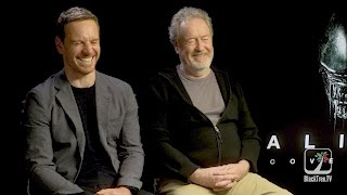 Aliens 👽 Covenant Interview with Ridley Scott and Michael Fassbender