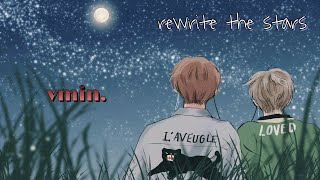 VMIN || REWRITE THE STARS ( alight motion edit )