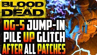 BO4 Zombie Glitches: DG-5 Jump-In Pile Up Glitch After Patch 1.11 - Blood Of The Dead Glitches