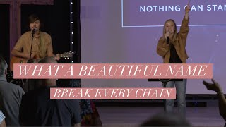 What A Beautiful Name - Break Every Chain | LIVE | GCCC