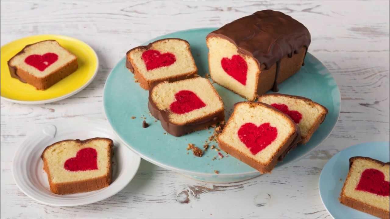Ruhrkuchen Mit Herz Surprise Inside Cake Youtube