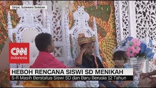 Heboh Rencana Siswi SD Menikah