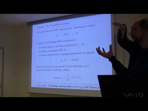 The Gauge Principle and Local Quantum Field Theory (by Urs Schreiber, November 13th, 2014)