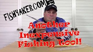 Inexpensive Fishing Tool Unboxing; 9 Inch Hemostat Forceps: Episode 409