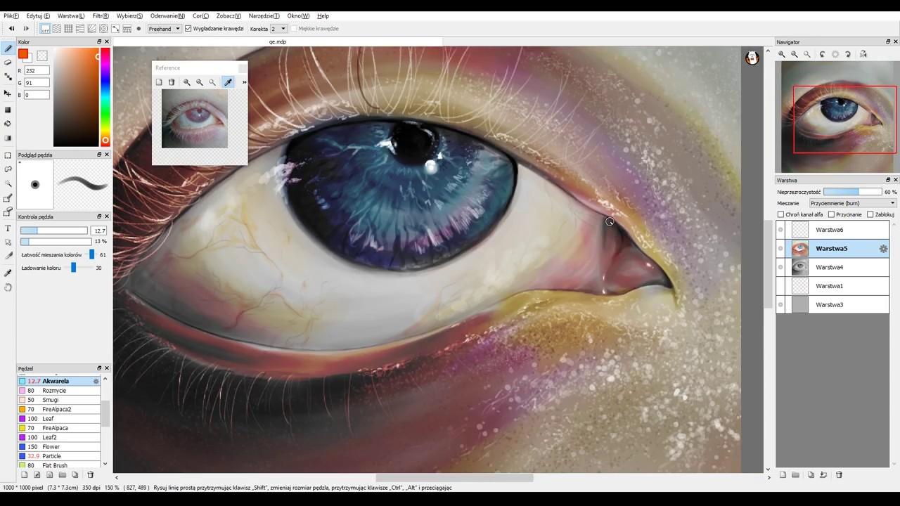 Speedpaint - Grayscale to Colored   Practice   Firealpaca  